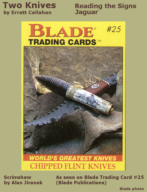 2 Knives (Blade Trading Cards, 1993)